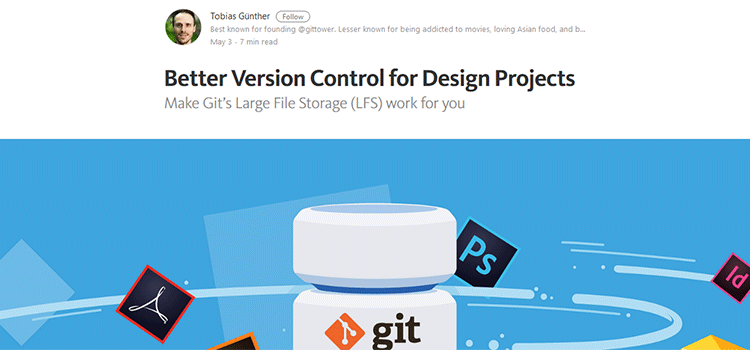 Better Version Control for Design Projects