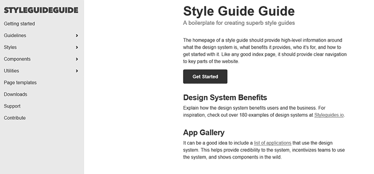 Styleguide Toolbox - Templates, UI Kits, Tools & Generators