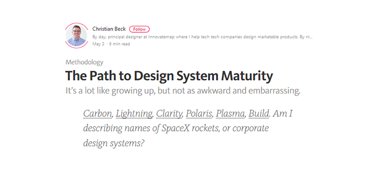 The Path to Design System Maturity