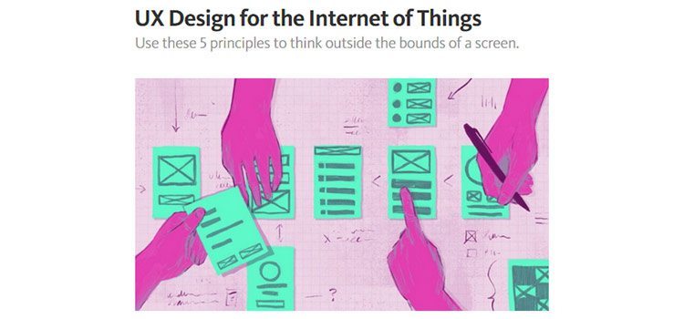 UX Design for the Internet of Things