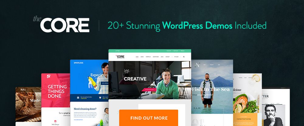 The Core - Multi Purpose WordPress Theme