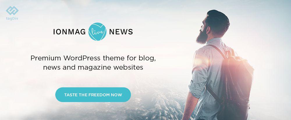 ionMAG - Premium News WordPress Theme