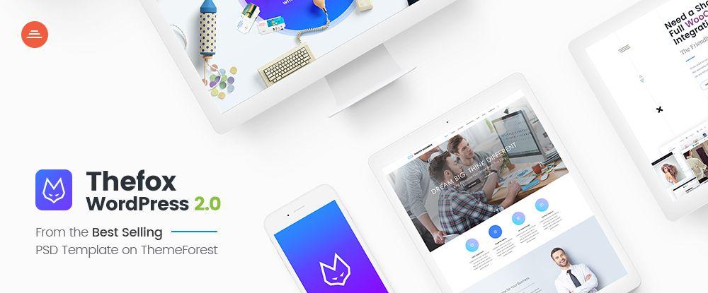 TheFox - Responsive Multi-Purpose WordPress Theme