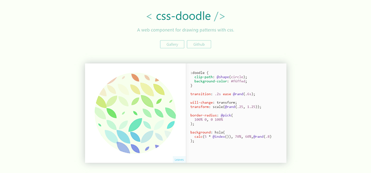css doodle