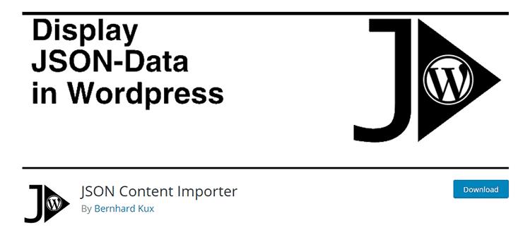 JSON Content Importer