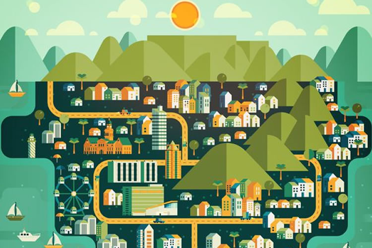 Cosmopolis – An Inspiring Collection of Major City Illustrations