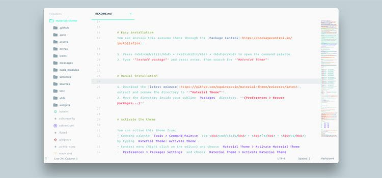 10 Beautiful Free Themes for Sublime Text