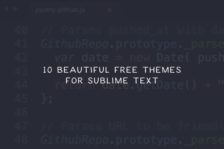 10 beautiful free themes for sublime text malvernweather