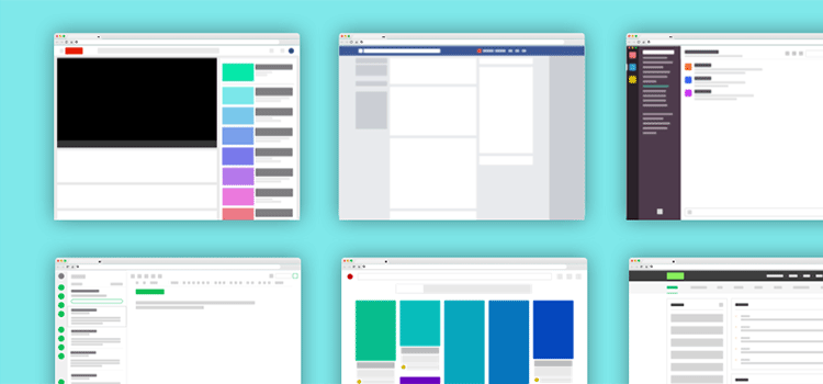 Freebie! Popular Web App Layouts