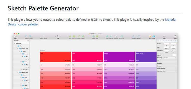 Sketch Palette Generator