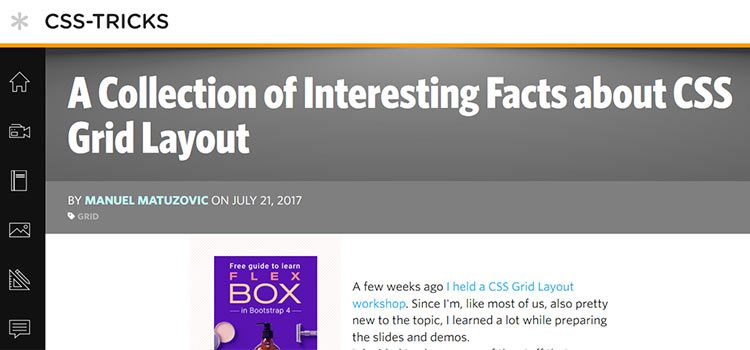 A Collection of Interesting Facts about CSS Grid Layout