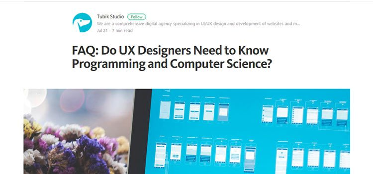 FAQ: Do UX Designers Need to Know Programming and Computer Science?