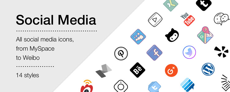 Social Media Free Icons by Icons8