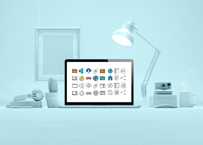 The Free UI Interface Icon Set for Web Designers (60 Icons, SVG)