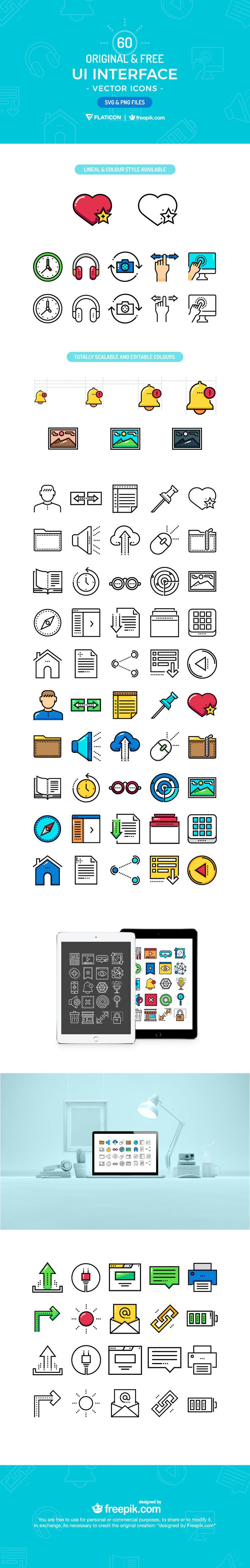 ui interface icon set screenshot svg