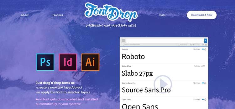 FontDrop