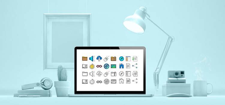 The Free UI Interface Icon Set for Web Designers
