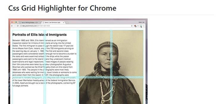 Css Grid Highlighter for Chrome