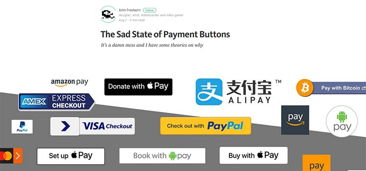 The Sad State of Payment Buttons