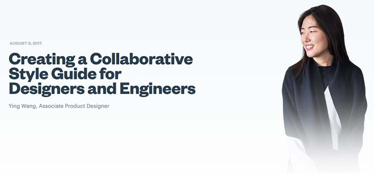 Creating a Collaborative Style Guide for Designers and Engineers
