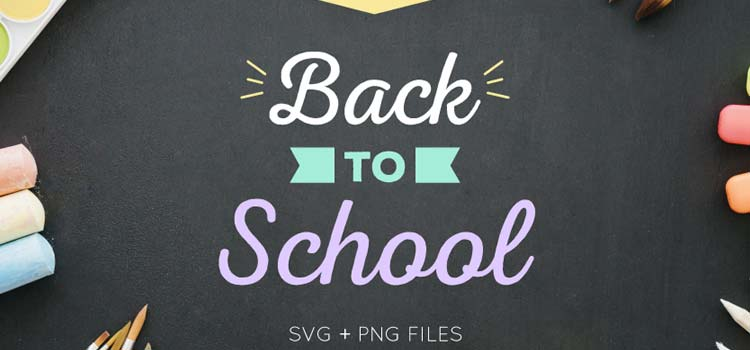 Free Back to School Flat and Line Icon Set