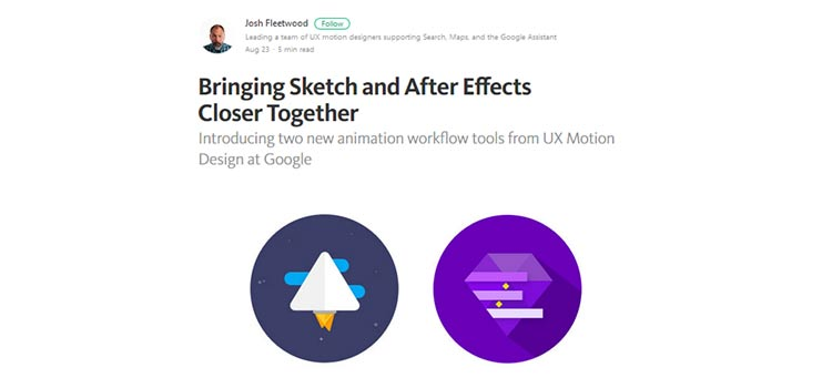 Bringing Sketch and After Effects Closer Together