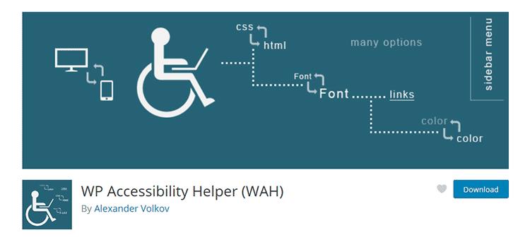 Aide à l'accessibilité WP