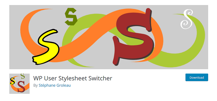 WP User Stylesheet Switcher