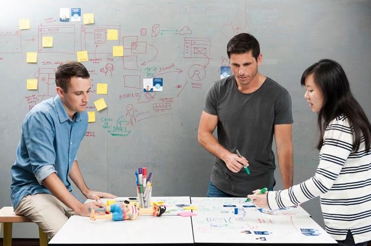 Design space in Atlassian Sydney