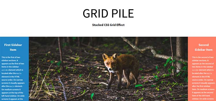 GRID PILE: Stacking CSS Grids for Impossible Layouts
