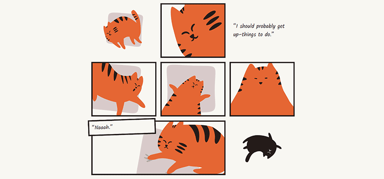 CSS Grid Layout and Comics (as Explained by Barry the Cat)