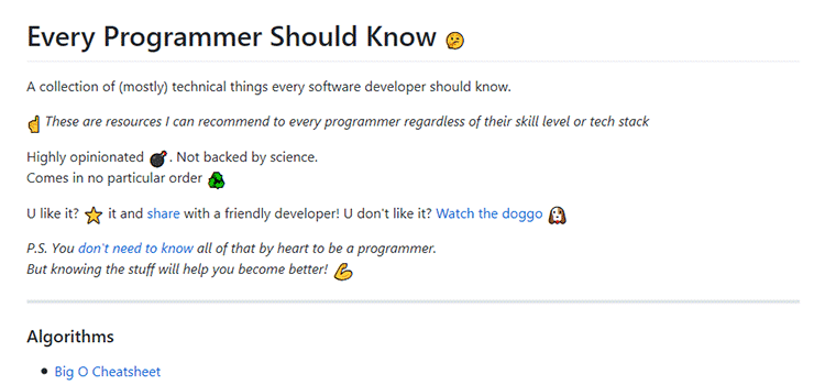 Every Programmer Should Know