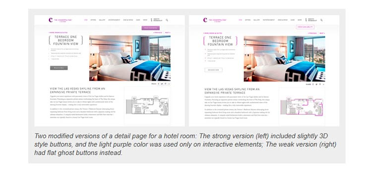 Flat UI Elements Attract Less Attention and Cause Uncertainty
