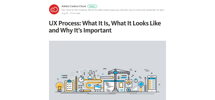 UX Process: What It Is, What It Looks Like and Why It's Important