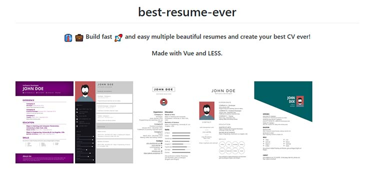 best-resume-ever
