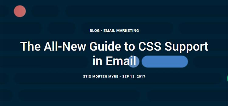 The All-New Guide to CSS Support in Email