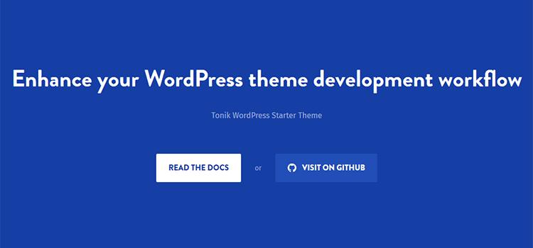8 Free Starter & Barebone Themes for WordPress Development