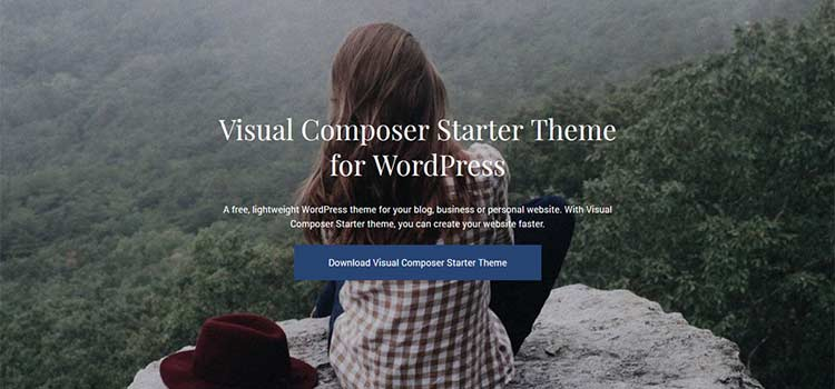 Visual Composer Starter Theme