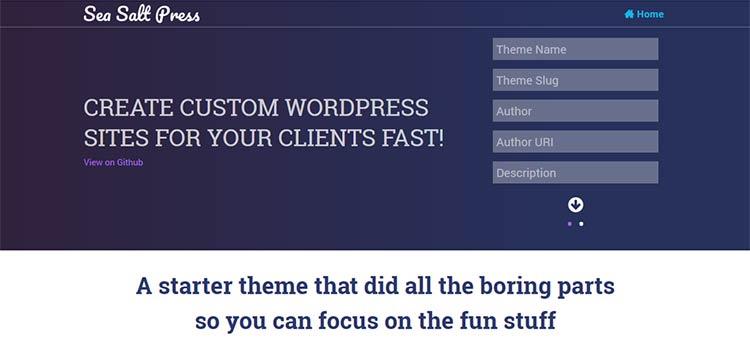 The Top Starter & Barebone Themes for WordPress Development