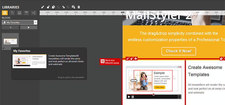 Reuse Your Favorite Elements with MailStyler 2