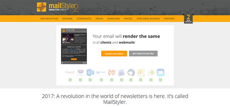 Quickly Create Responsive Email Templates with MailStyler 2