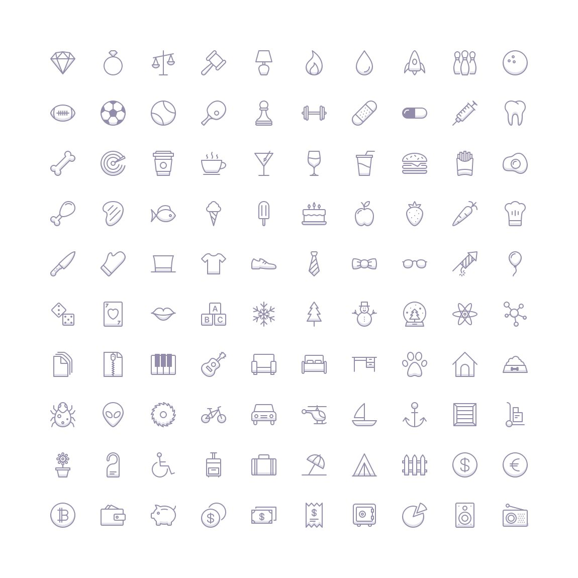 Free Funkies Shaded Icon Set png svg illustrator