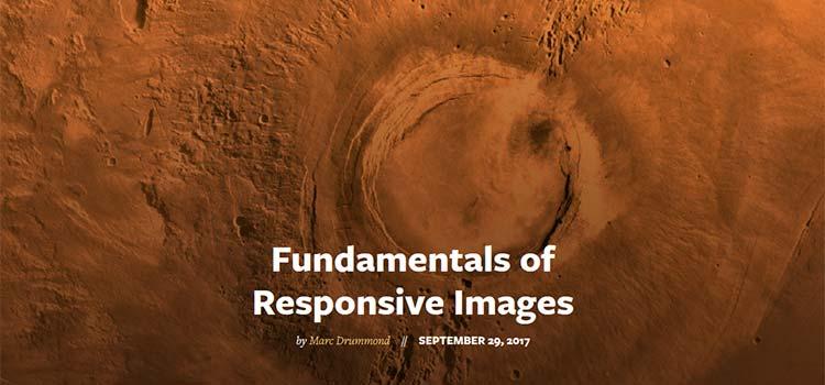 Fundamentals of Responsive Images