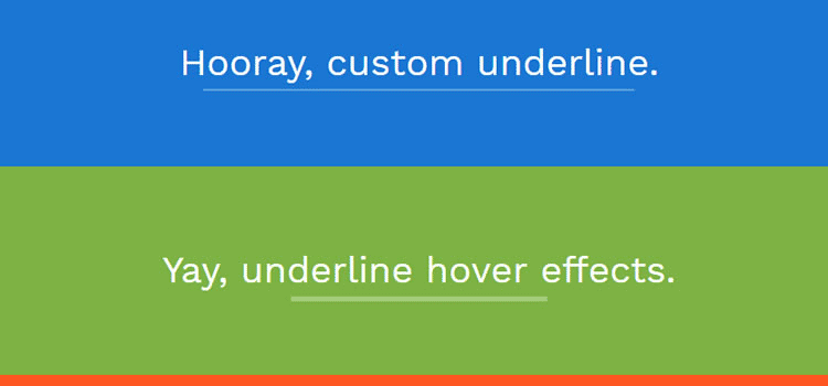 10 Unique Animated Underline Text Effects with CSS