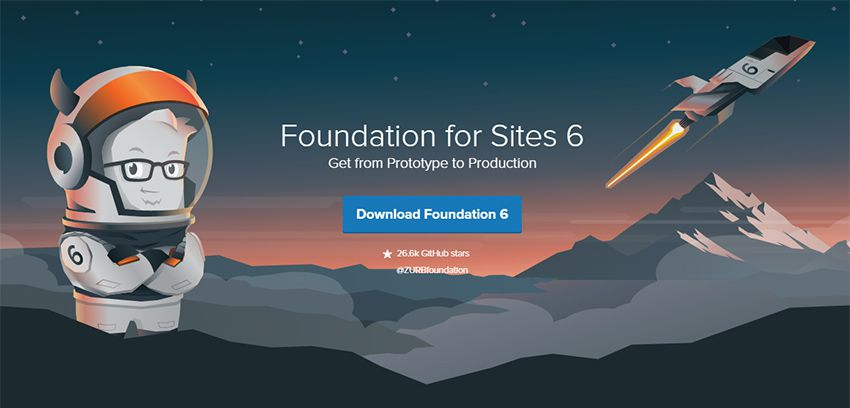 zurb foundation The 10 Most Popular Open Source Front-End Web UI Kits - 02 foundation for sites framework - The 10 Most Popular Open Source Front-End Web UI Kits