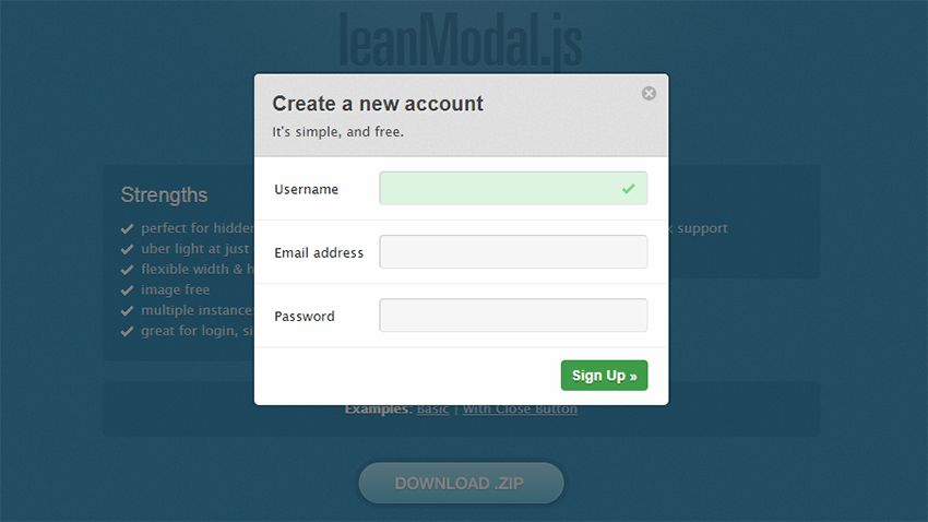12 Free Modal Window Libraries & Plugins For Your Site
