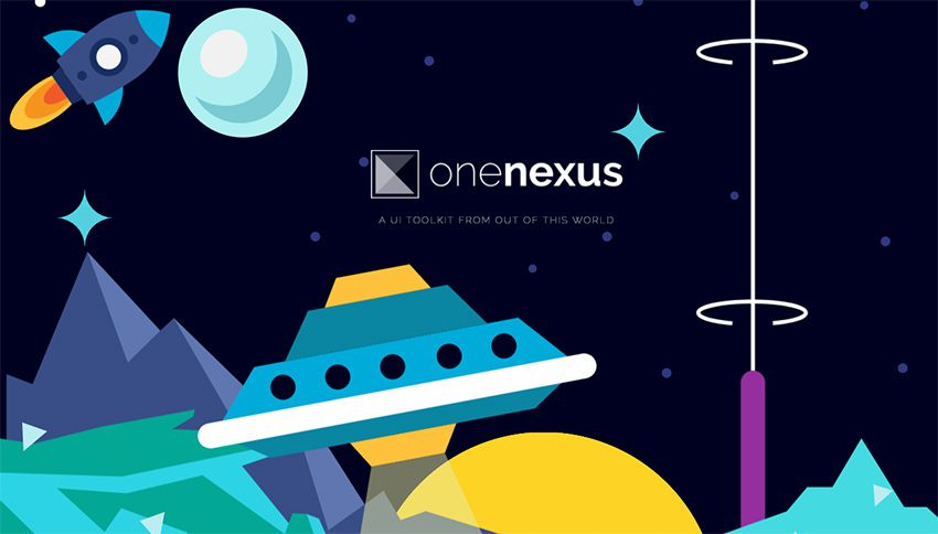 one-nexus framework The 10 Most Popular Open Source Front-End Web UI Kits - 04 one nexus framework - The 10 Most Popular Open Source Front-End Web UI Kits
