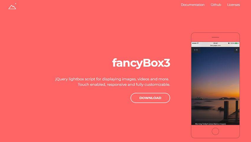 fancybox script