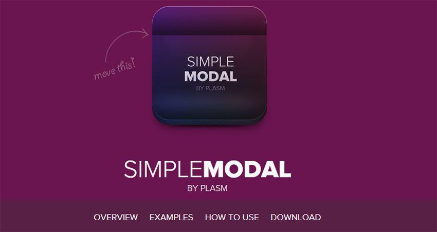 simplemodal plugin