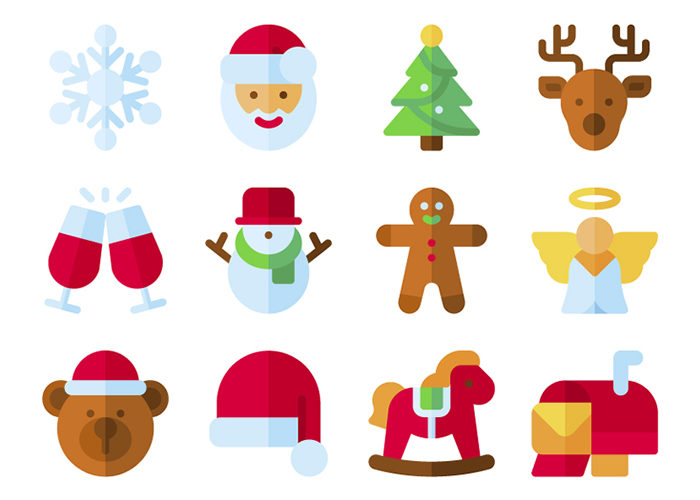 210 Free Christmas Icons in SVG & PNG Formats
